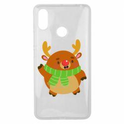 Чехол для Xiaomi Mi Max 3 Deer in a scarf