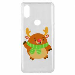 Чехол для Xiaomi Mi Mix 3 Deer in a scarf