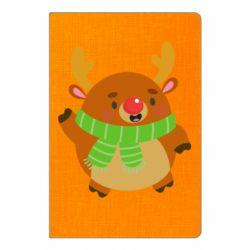 Блокнот А5 Deer in a scarf