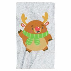 Полотенце Deer in a scarf