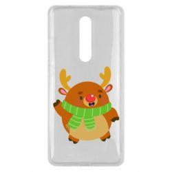 Чехол для Xiaomi Mi9T Deer in a scarf