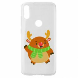 Чехол для Xiaomi Mi Play Deer in a scarf