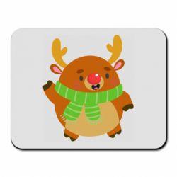Коврик для мыши Deer in a scarf