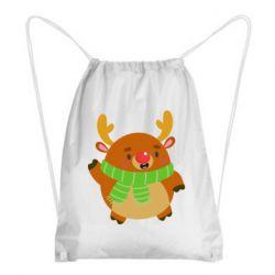 Рюкзак-мешок Deer in a scarf