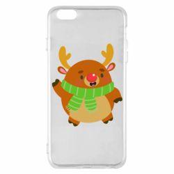 Чехол для iPhone 6 Plus/6S Plus Deer in a scarf