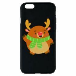 Чехол для iPhone 6/6S Deer in a scarf