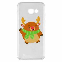 Чехол для Samsung A5 2017 Deer in a scarf