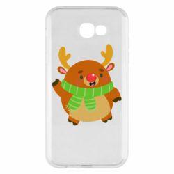 Чехол для Samsung A7 2017 Deer in a scarf