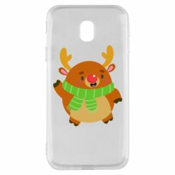 Чехол для Samsung J3 2017 Deer in a scarf