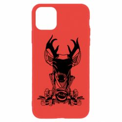 Чохол для iPhone 11 Deer in chains with flowers