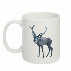 Купить Кружка 320ml Deer polygons art, FatLine