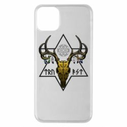 Чехол для iPhone 11 Pro Max Deer skull and five-pointed star