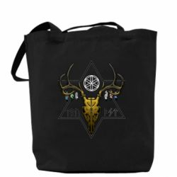 Сумка Deer skull and five-pointed star