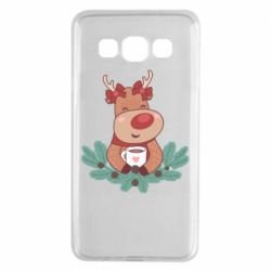 Чехол для Samsung A3 2015 Deer tea party girl