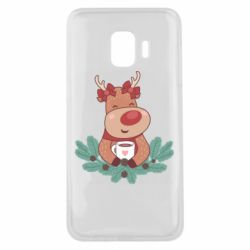 Чехол для Samsung J2 Core Deer tea party girl
