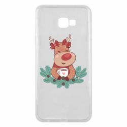 Чехол для Samsung J4 Plus 2018 Deer tea party girl