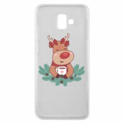 Чехол для Samsung J6 Plus 2018 Deer tea party girl