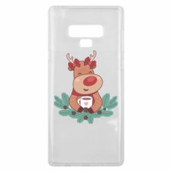 Чехол для Samsung Note 9 Deer tea party girl
