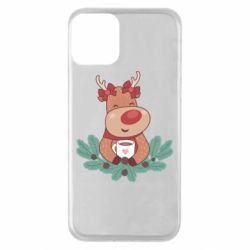 Чехол для iPhone 11 Deer tea party girl
