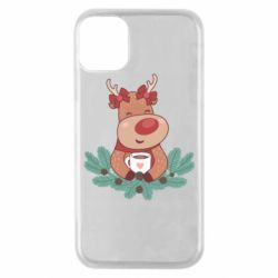 Чехол для iPhone 11 Pro Deer tea party girl