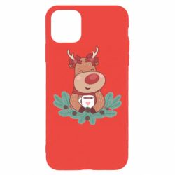 Чехол для iPhone 11 Pro Max Deer tea party girl