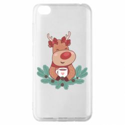 Чехол для Xiaomi Redmi Go Deer tea party girl