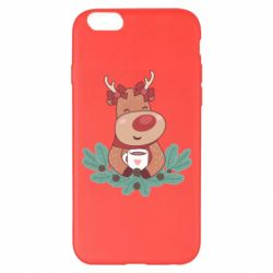 Чехол для iPhone 6 Plus/6S Plus Deer tea party girl