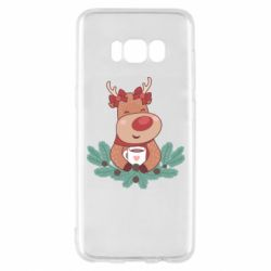 Чехол для Samsung S8 Deer tea party girl