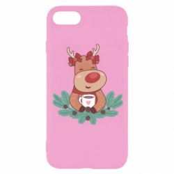 Чехол для iPhone 8 Deer tea party girl