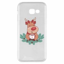 Чехол для Samsung A5 2017 Deer tea party girl