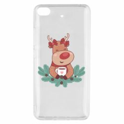 Чехол для Xiaomi Mi 5s Deer tea party girl