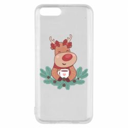 Чехол для Xiaomi Mi6 Deer tea party girl