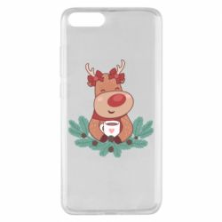 Чехол для Xiaomi Mi Note 3 Deer tea party girl