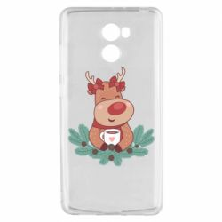 Чехол для Xiaomi Redmi 4 Deer tea party girl