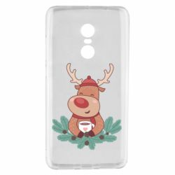 Чехол для Xiaomi Redmi Note 4 Deer tea party