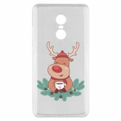 Чехол для Xiaomi Redmi Note 4x Deer tea party