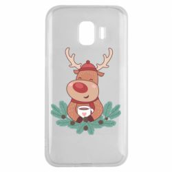 Чехол для Samsung J2 2018 Deer tea party