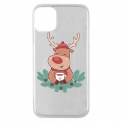 Чехол для iPhone 11 Pro Deer tea party
