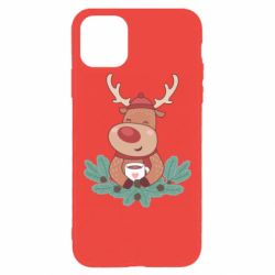 Чехол для iPhone 11 Pro Max Deer tea party