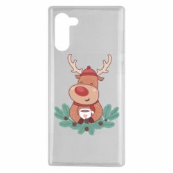 Чехол для Samsung Note 10 Deer tea party
