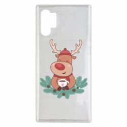 Чехол для Samsung Note 10 Plus Deer tea party