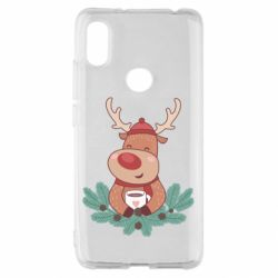 Чехол для Xiaomi Redmi S2 Deer tea party