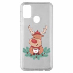 Чехол для Samsung M30s Deer tea party