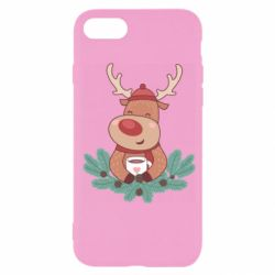 Чехол для iPhone 7 Deer tea party