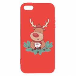 Чехол для iPhone5/5S/SE Deer tea party