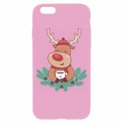 Чехол для iPhone 6/6S Deer tea party