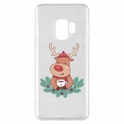Чехол для Samsung S9 Deer tea party