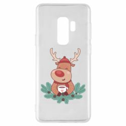 Чехол для Samsung S9+ Deer tea party