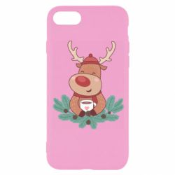 Чехол для iPhone 8 Deer tea party