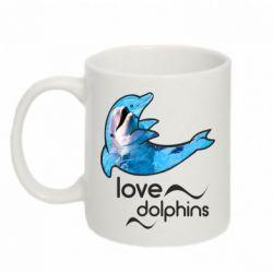 Кружка 320ml Дельфин